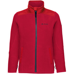 VAUDE Kids Racoon Fleece Jacket indian red